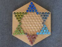 Chinese Chequers - House of Marbles - used - large board game
