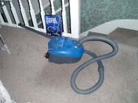 blue 1400 watt tescos hoover with bags