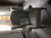 Laura Ashley Winged Armchair