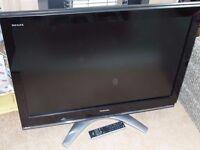 "Toshiba Regza 37"" Full HD Flat-screen LCD TV."