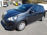 2013 MITSUBISHI MIRAGE 2 1.1 ONLY 55000m ZERO ROAD TAX STOP - START SERVICE HISTORY