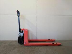 HOC EPT20 - ELECTRIC PALLET TRUCK JACK 3300 POUND CAPACITY + 1 YEAR WARRANTY + FREE SHIPPING