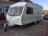 Lunar Mercury 14 ft 2 berth caravan *** 1 owner from new ***