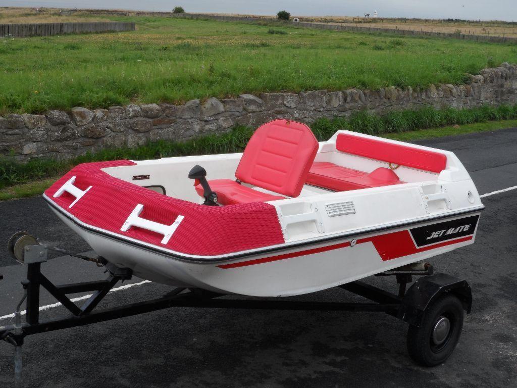 Rare 1989 Kawasaki Jet Mate Jet Boat 650cc With Sxr 800cc
