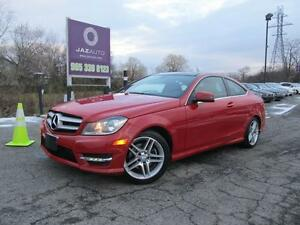 2013 Mercedes-Benz C250 PANORAMIC ROOF, MUST SEE SAVE MORE
