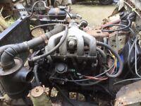 Landrover LT85 gear box and Izusu 2.8 engine can be heard running