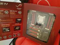 Rampage IV extreme Motherboard w/ i7 processor & 32gb ram!!