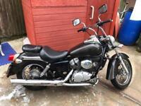 Honda Shadow VT125 Motorbike