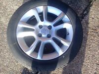 vauxhall corsa d alloy wheel with good 16 inch tyre