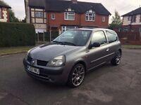 2003 (52) Renault Clio Expression 16V 1.2 Petrol 3dr (1 year MOT )