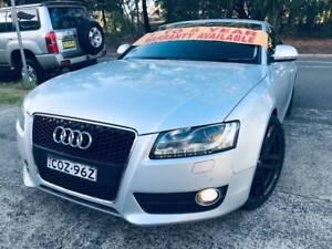 MY09 2008 Audi A5 Coupe Sports LONG REGO 2 Keys DVD SAT NAV GPS !