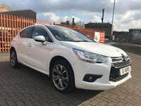 2013 (13) Citroen DS4 DStyle 1.6 HDi / 51K FSH / 1 Lady owner from new / 12 Months MOT /