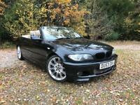 BMW 330CI SPORT AUTO CONVERTIBLE LATE 2003 (53) FACELIFT MODEL