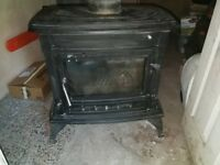 Cosyfire Cast Iron Stove 14 KW Multi Fuel