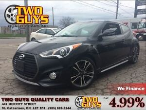 2016 Hyundai Veloster TURBO LEATHER NAVIGATION PANORAMIC ROOF TE