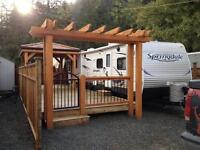 RV Lot and Trailer - LOT# 98 (Harrison Hot Springs)