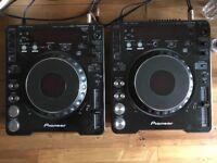 2x Pioneer CDj-1000 mk2