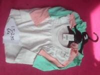 New 1-2 years girls clothes tops leggings