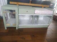 Hedgehog Cage / Homemade Vivarium / Converted Telephone Seat