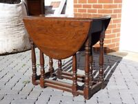 Small Oval Gate-leg Table