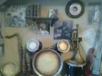 Vintage Framed Music Box