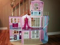 Barbie House w/ Accessories - SOLD