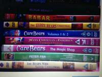 9 childrens dvds