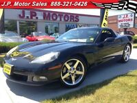 2007 Chevrolet Corvette Manual, Leather,