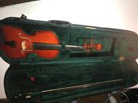 Stentor Violin, bow, case and strings