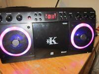 £10 Easy Karaoke Machine -Bluetooth CD