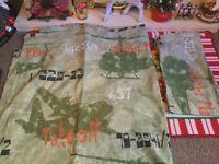 Boys army themed single duvet cover set