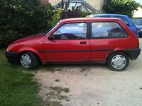 SUITABLE FOR PARTS 1991 ROVER METRO 1.1 GENUINE 27000 MILEAGE