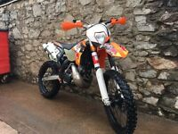 Ktm 200exc road registered as 125 Honda Yamaha