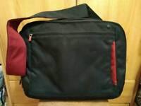 "Belkin Messenger Bag 15.6"" Laptop Macbook & Chromebook - Black/Red"