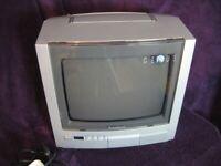 "Panasonic 10"" TX-G10 Colour Portable TV - PAL/SECAM"