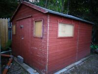 Insulated Workshop / Art Studio / Large Shed 12ft x 10ft