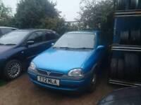 Vauxhall corsa 1.2 with years MOT