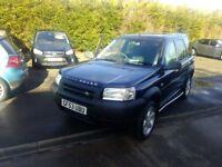 Land Rover Freelander 1.8 petrol mot 12 months