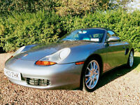 Porsche Boxster 986 2002 FSH Manual Leather Porsche Design Alloys Hard Top 1yr MOT