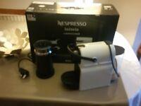 Nespresso Inissia & Aeroccino 3 Coffee Machine – White