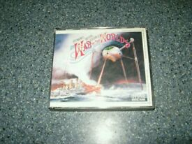 JEFF WAYNES 2 DISC **THE WAR OF THE WORLDS **AS SHOWN ****£ 4 *****