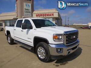 2015 GMC SIERRA 2500HD SLT, DIESEL, HEATED AND COOLED SEATS, COM