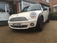 2009 Mini One - 1.4, FMSH, 2 keys, only 47k, white, immaculate
