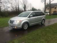 2008 CHRYSLER GRAND VOYAGER STOWAWAY 2.8 CRD AUTO 7 SEATER
