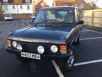 Classic Range Rover soft dash v8 lpg