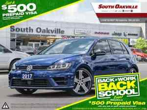 2017 Volkswagen Golf R 2.0 TSI | BLUETOOTH | HEATED LEATHER | NA