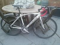 Specialized allez sport road bike. 52cm frame.