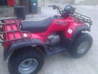 HONDA TRX 450 FE QUAD FOR SALE