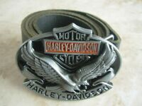 Harley Davidson Eagle Belt and Buckle Motorcycle accessories for Bikers