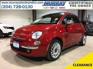 2014 Fiat 500 Lounge FWD *Heated Seats* *Sport Mode*